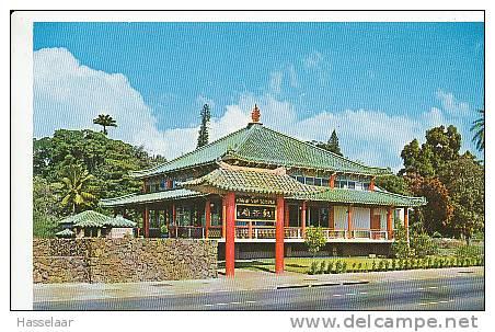 Honolulu - Kuan Yin Temple - North Vineyard Boulevard - Bouddhisme