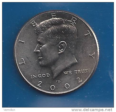 JFK 14. Piece TYPE Courant  (1993 - Lettre D) BELLE QUALITE, TRANCHE BRUNE - 1964-…: Kennedy