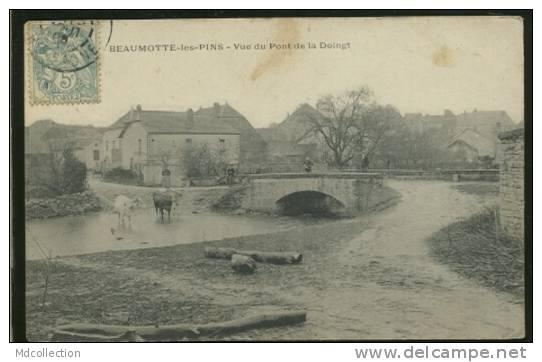 70 BEAUMOTTE LES PINS / Vue Du Pont De La Soingt / - France