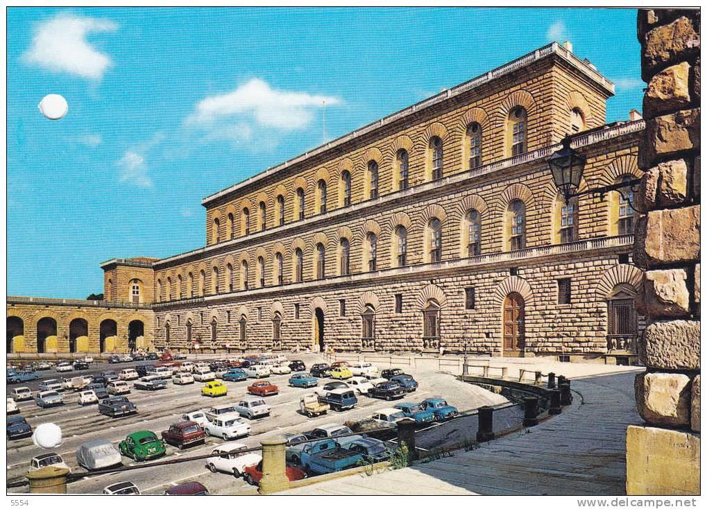 Cpsm  Italie  Toscane Firenze Palais Pitti Voitures Anciennes - Firenze
