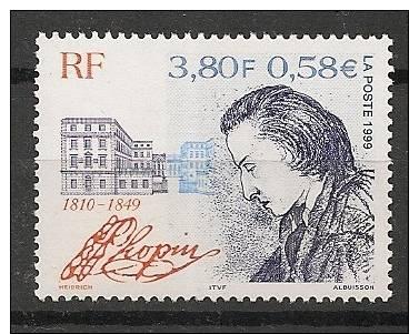 N°3287 Chopin - Neuf Luxe ** - Nuevos