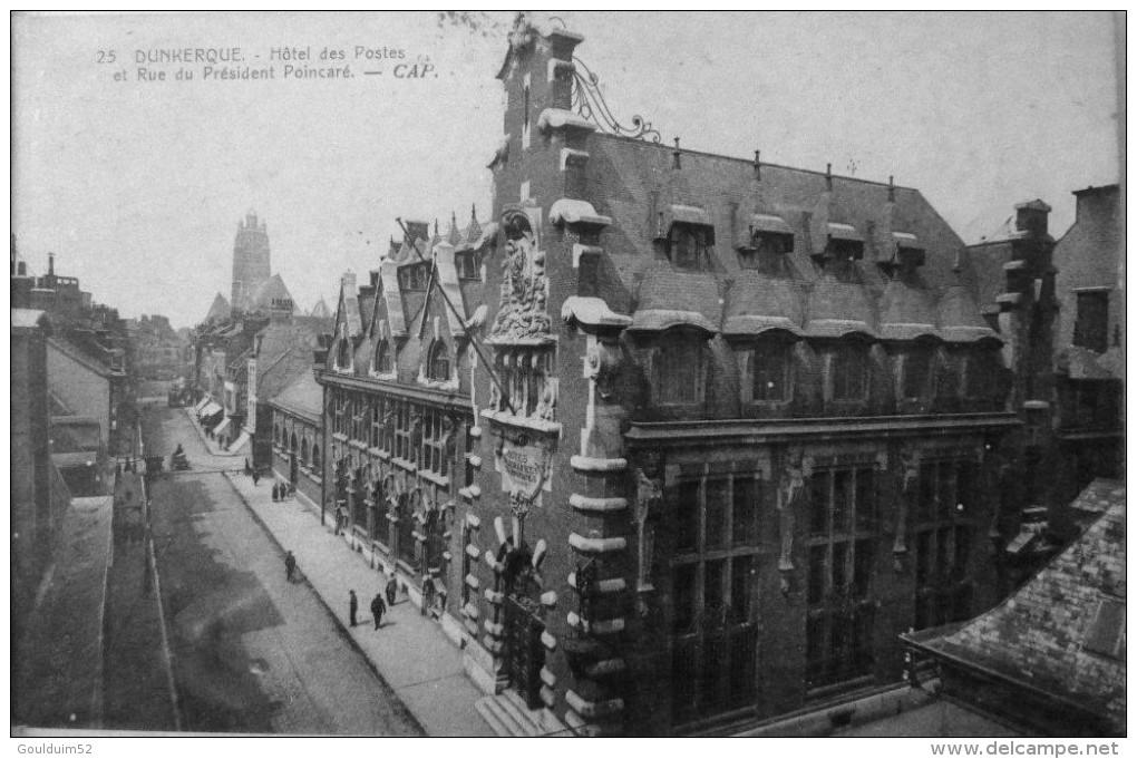 Hotel Des Postes Et Rue Du Président Poincaré - Dunkerque