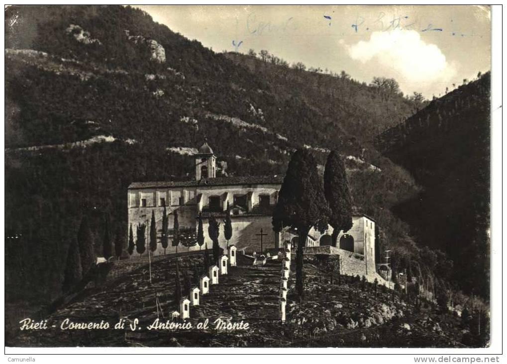 Rieti- Convento Di S. Antonio Al Monte - Rieti
