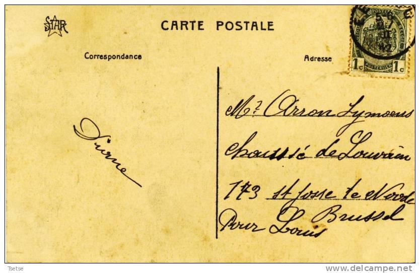 Eeklo / Eecloo - Le Palais De Justice - 1912 ( Verso Zien ) - Eeklo
