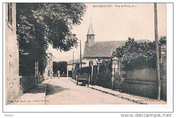 MAURECOURT - Rue De Paris, N° 1 - Maurecourt