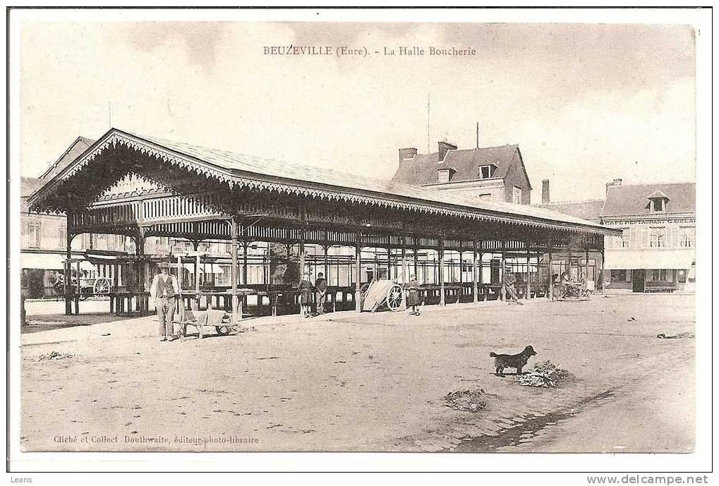 BEUZEVILLE   La Halle Boucherie - Halles