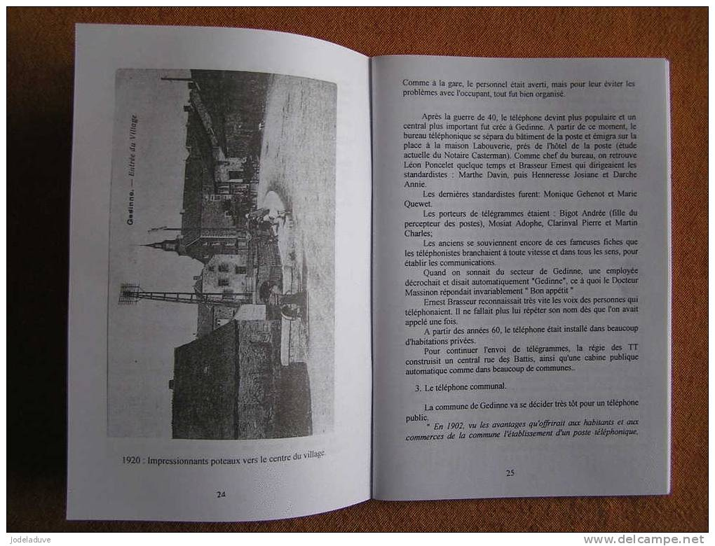 CEHG  N° 39 Régionalisme Bourseigne Neuve Rienne Willerzie Sart Custinne - Bélgica