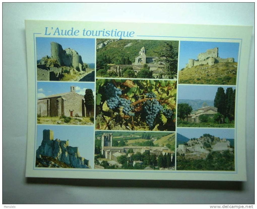 D 11 - Peyrepertuse, Fontfroide, Aguilar, Chapelle De Fabrezan Et De Talairan, Quéribus, Lagrasse, Termes - France