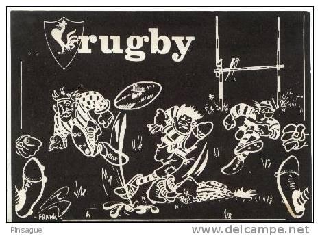 """RUGBY - """" BRASSERIE - BAR à BENIDORM - Rugby"""