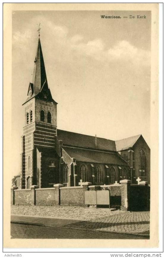 Waarloos De Kerk Uitg. Fr. Ruysch Waarloos (Kunstfotografie Beernaert Lokeren) - Rumst