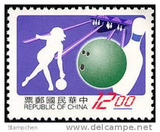 1997 Sport Stamp- Bowling  #3144 - Bowls