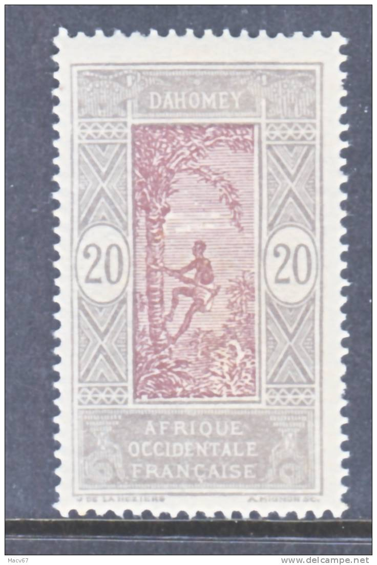 French Dahomey  51    * - Unused Stamps