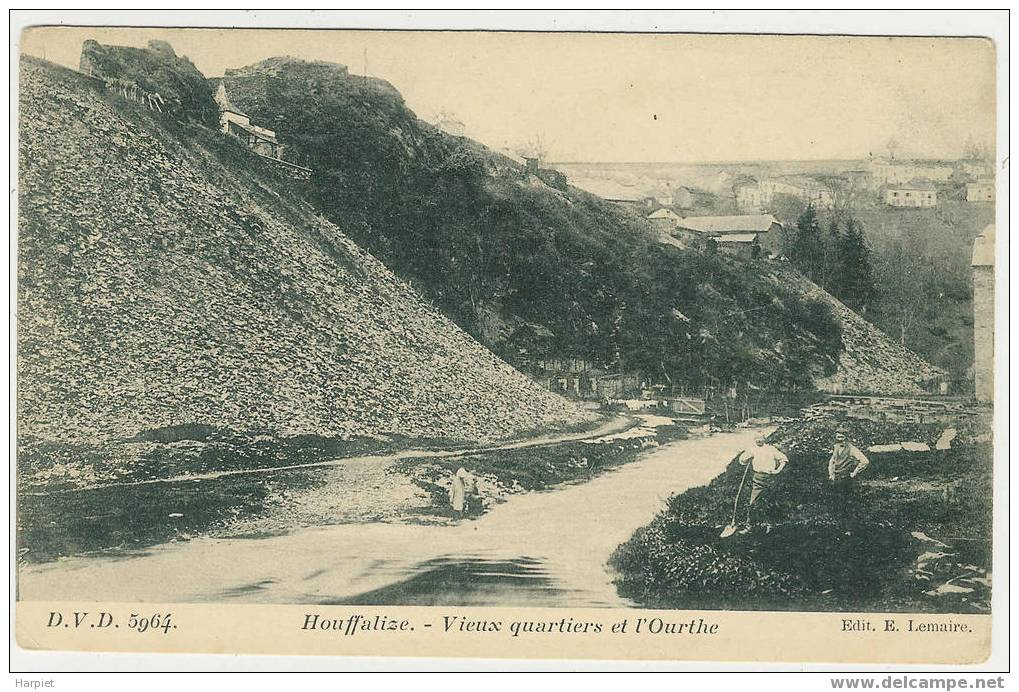 HOUFFALIZE  - Vieux Quartiers Et L´Ourthe - Houffalize