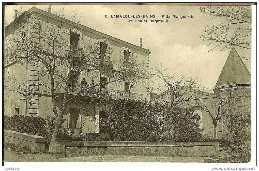 CPA  LAMALOU LES BAINS, Villa Marguerite  0998 - Lamalou Les Bains