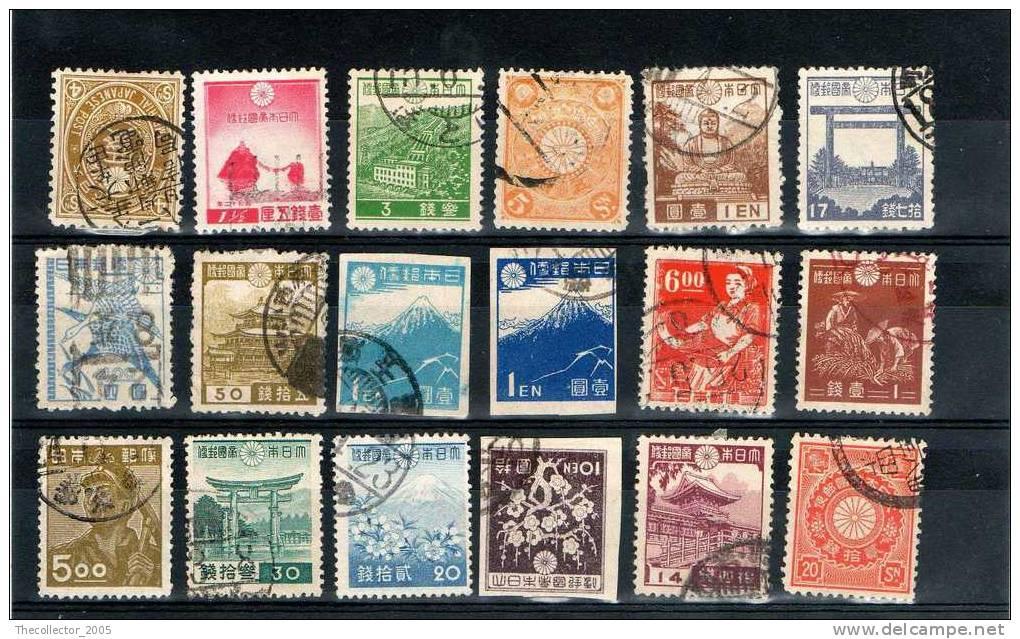 Giappone / Japan / Japon / Lotto Francobolli Classici - Classic Stamps Lot / Superbe Lot ! - Japon