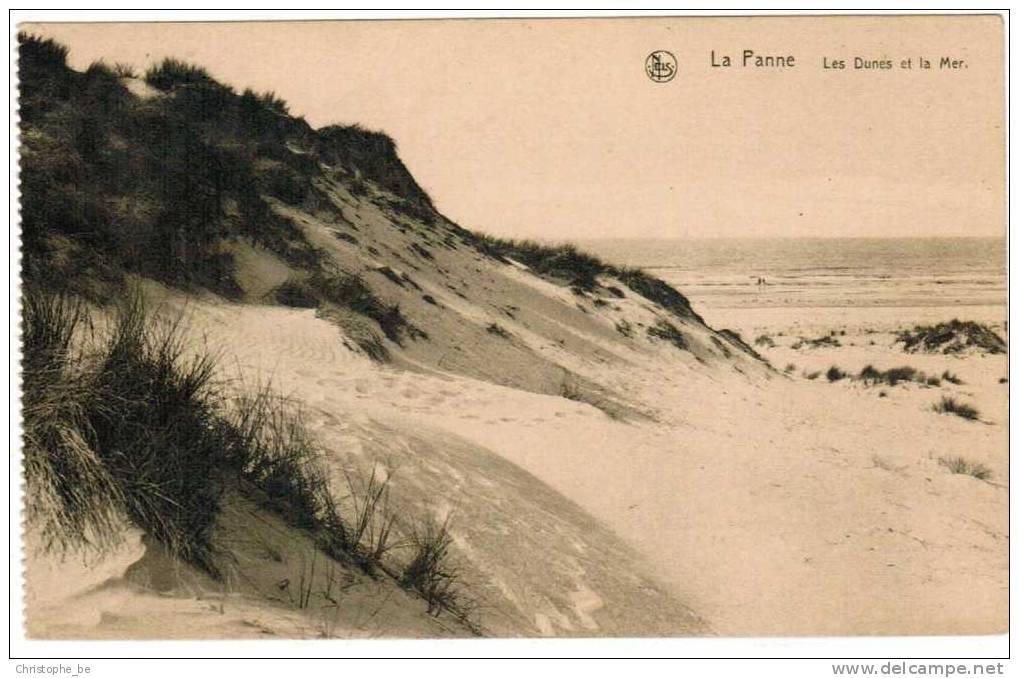 Oude Postkaart De Panne La Panne,  Les Dunes Et La Mer (pk1961) - De Panne