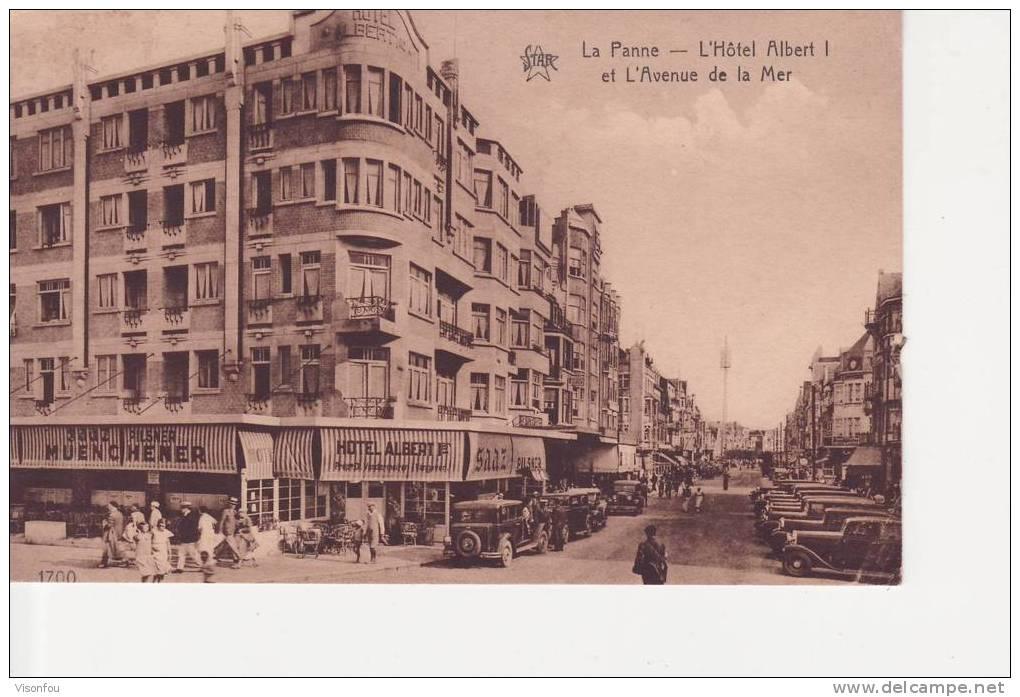 L´hôtel Albert I Et L´avenue De La Mer  ( De Panne ) - Hotels & Gaststätten