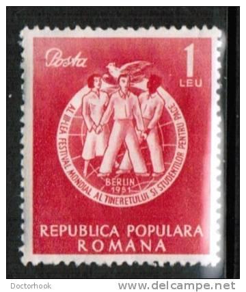 ROMANIA   Scott #  783*  VF MINT LH - 1948-.... Republics