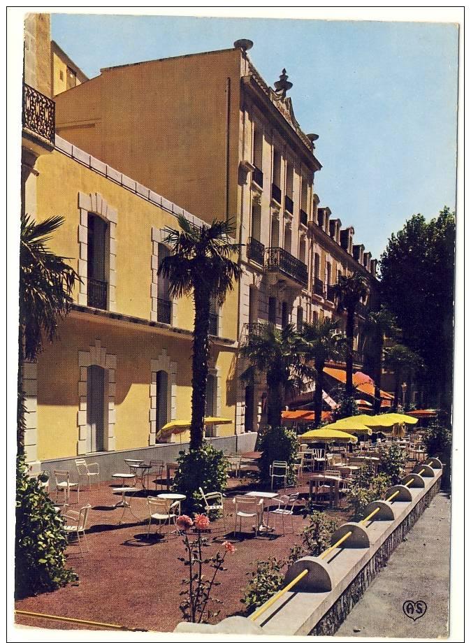 Lamalou Les Bains,vue Générale Du Grand Hôtel Mas - Lamalou Les Bains