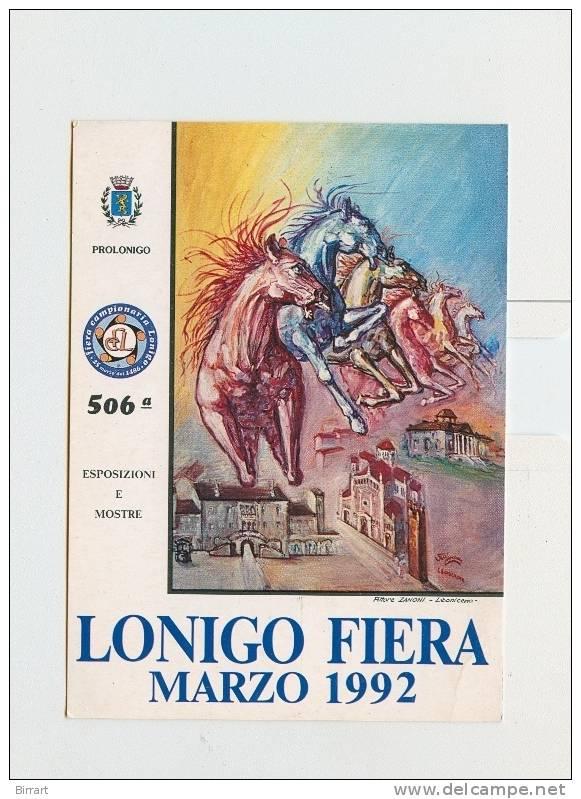 LONIGO,Fiera Marzo 1992-18.7.92 Finale Mondiale Speedway A Coppie-NV - Expositions