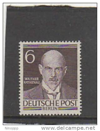 Germany Berlin-1953 Walter Rathenau  MNH - Unused Stamps