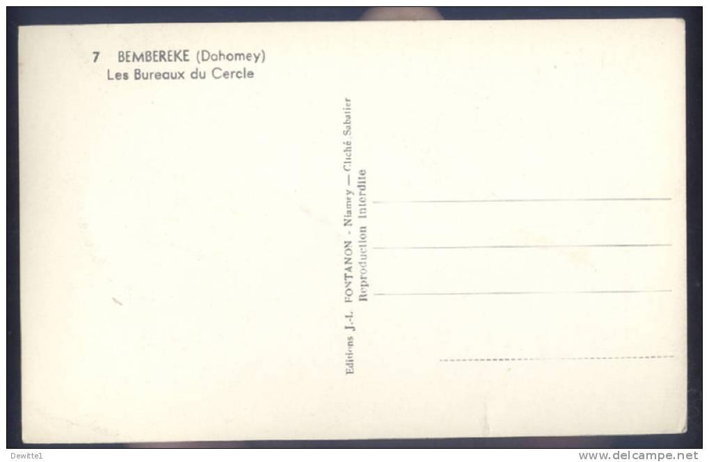 CPA  DAHOMEY   Les Bureaux Du Cercle - Dahomey