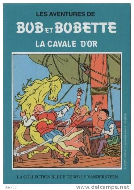 CPM Promotion Willy WANDERSTEEN : Bob Et Bobette (8) Cartoon Bédé Comics In Le Journal Tintin De HERGE - Comics