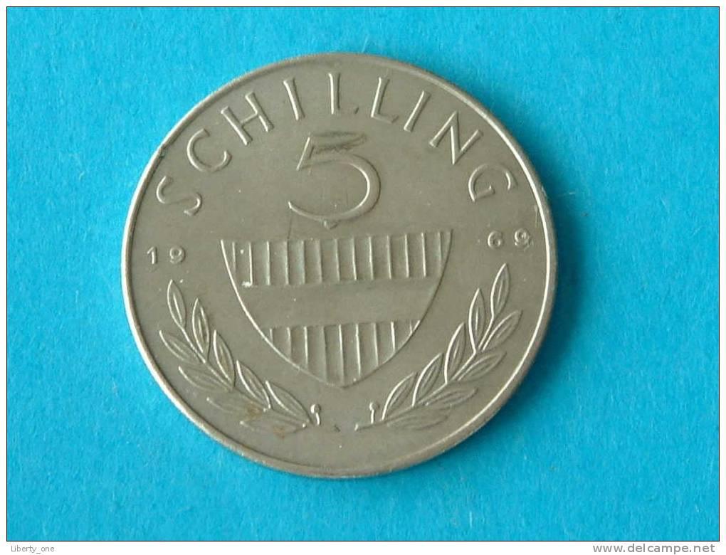 1969 - 5 SCHILLING / KM 2889a ( For Grade, Please See Photo ) !! - Autriche