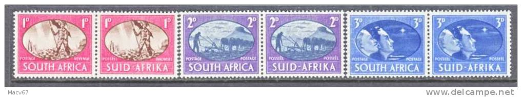 South Africa  100-2  *  PEACE - South Africa (...-1961)