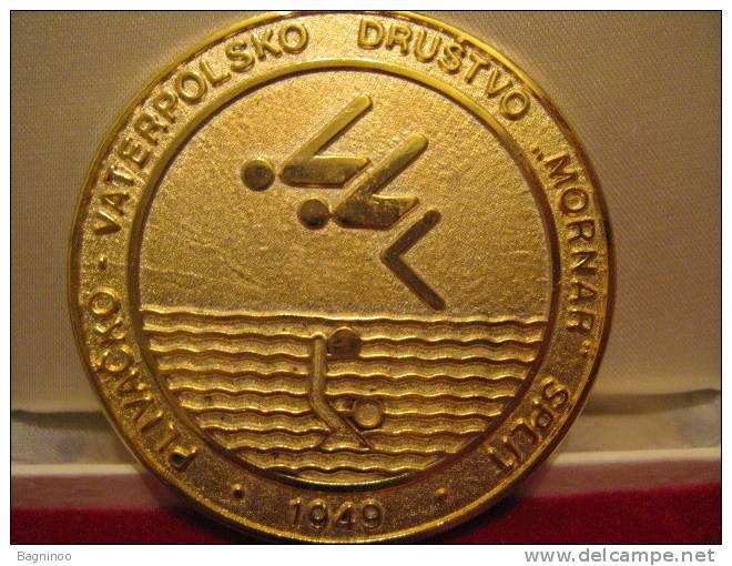 Swimming & Water Polo Club MORNAR Split Croatia Plaque - Swimming
