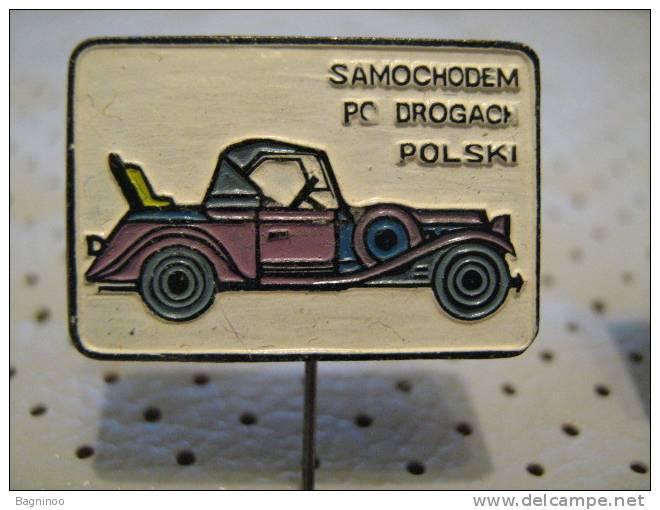 OLDTIMER Car Pin - Badges