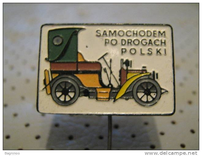 OLDTIMER Car Pin - Unclassified