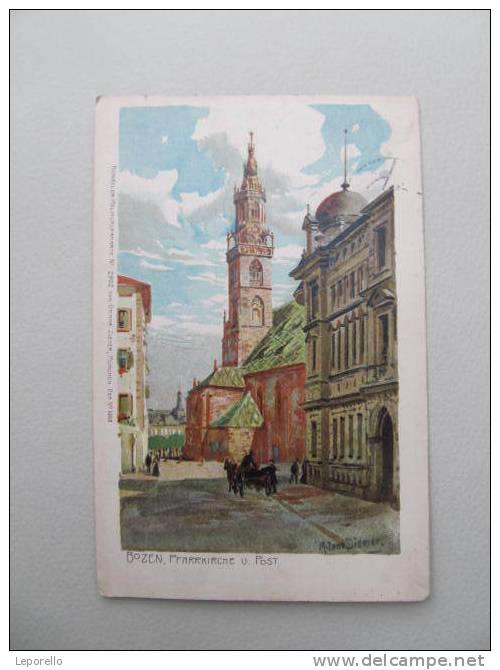AK BOZEN Litho  P*B3635Y - Bolzano (Bozen)