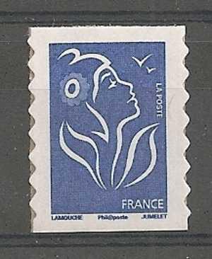 Autoadhésif 147** Marianne Tvp Bleu - France