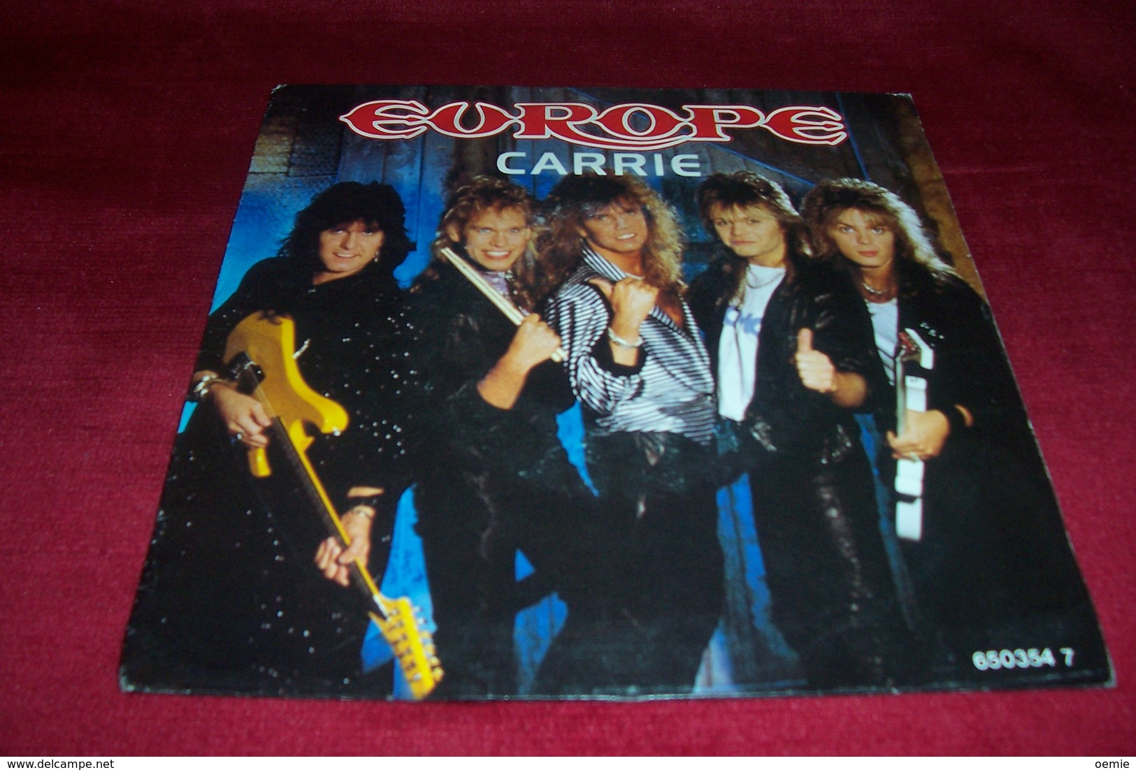 EUROPE   °  CARRIE - Rock