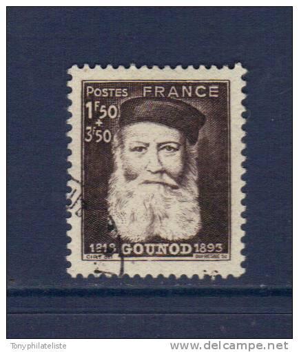 France Charles Gounod  N°601   Oblitéré - Gebraucht