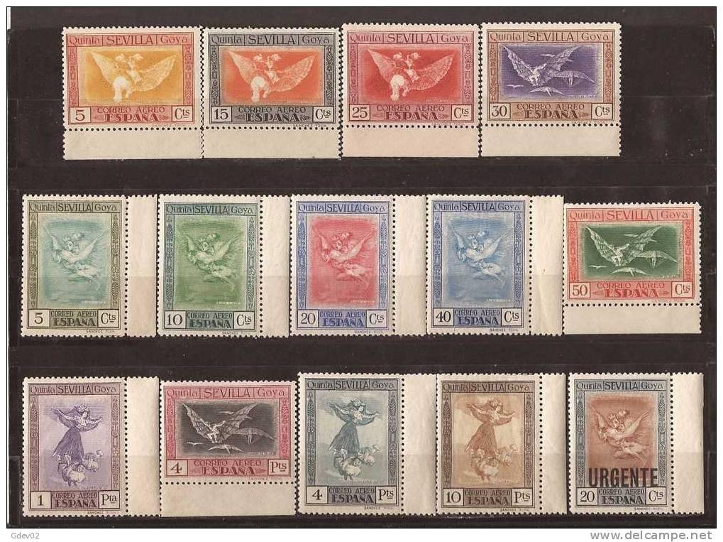ES517-L3941TFEX.Spain Espagne QUINTA DE GOYA AEREA .Pintor.Pintura.1930. (Ed 517/30**) Sin Charnela MAGNIFICA - Aéreo