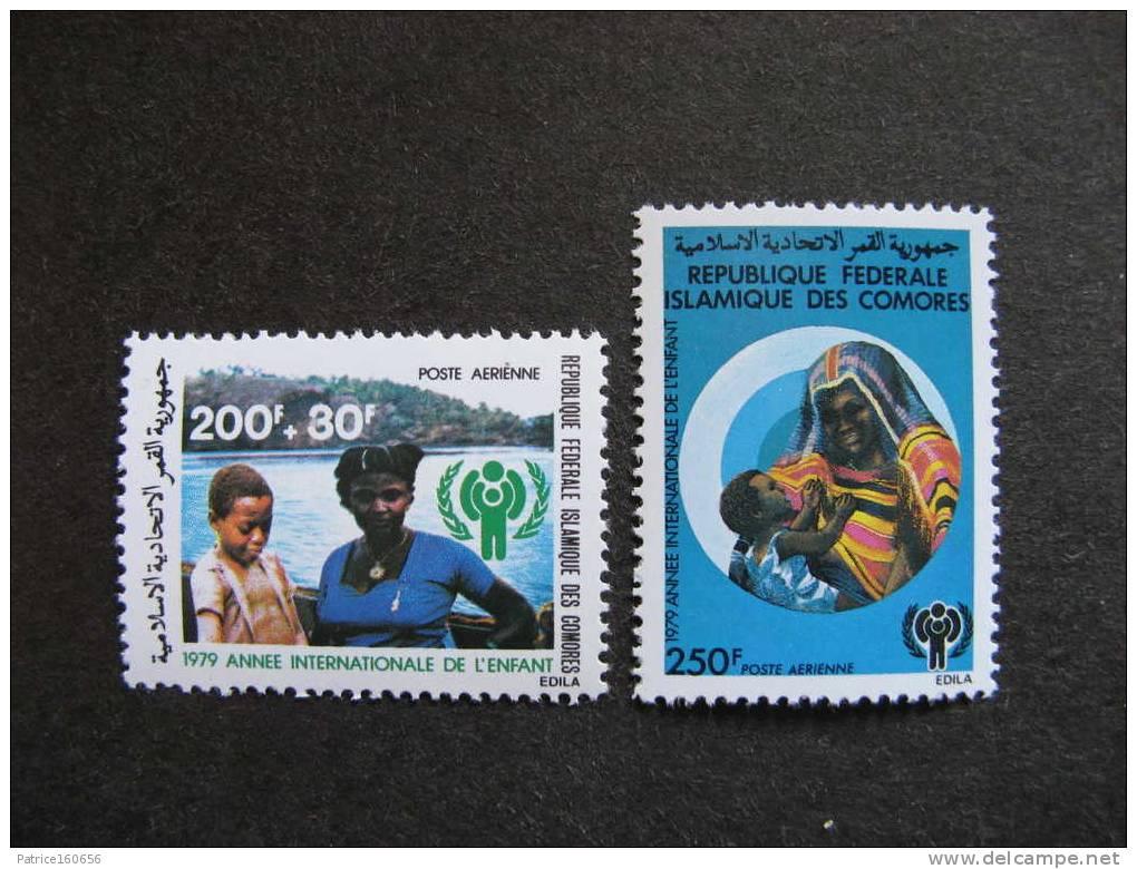 Comores: TB Paire PA N° 164 Et N°165, Neufs XX. GT. - Comores (1975-...)