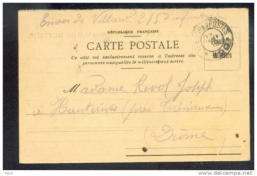 Carte-postale En FM 1915 Hauterive - Marcofilia (sobres)