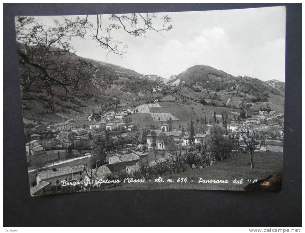 ^ BORGO ANTONIO VISSO MACERATA Anni ´50 34 - Macerata