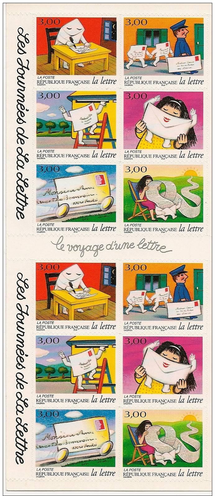 Carnet Non Plié - BC3071A Les Journées De La Lettre 1997 - Neuf Luxe ** - Conmemorativos