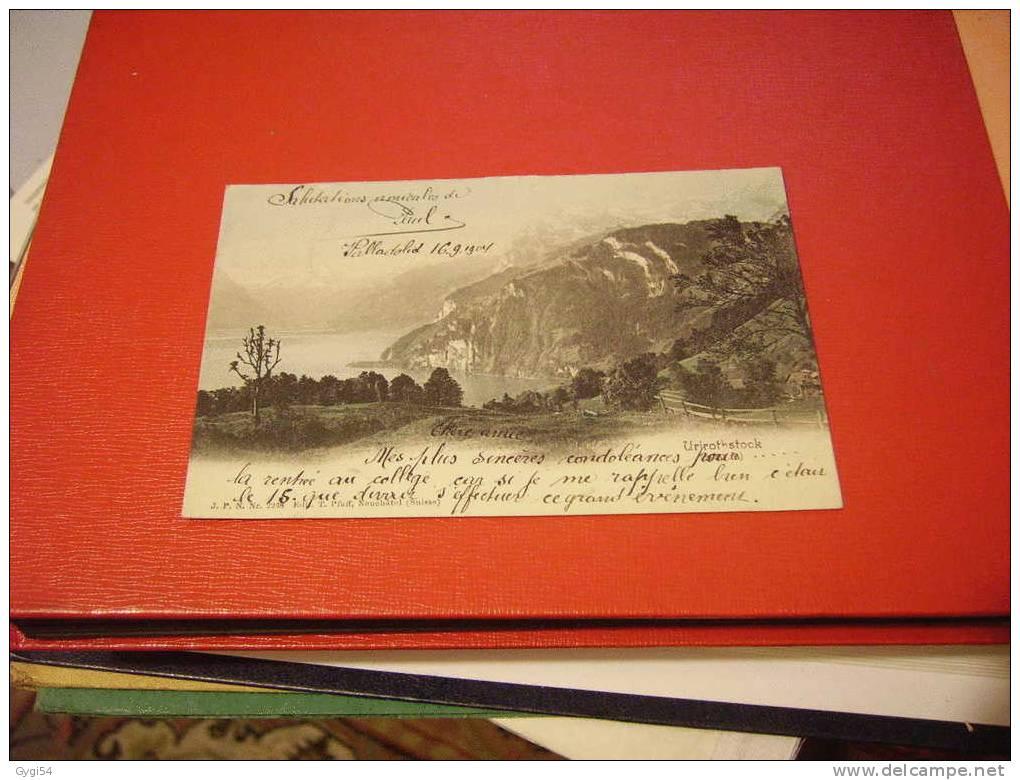 CPA  ANNEE 1904 SUISSE  VUE SUR URIROTHSTOCK - Non Classés
