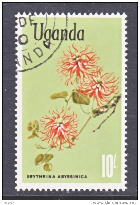 Uganda 128  (o)  FLOWERS - Uganda (1962-...)