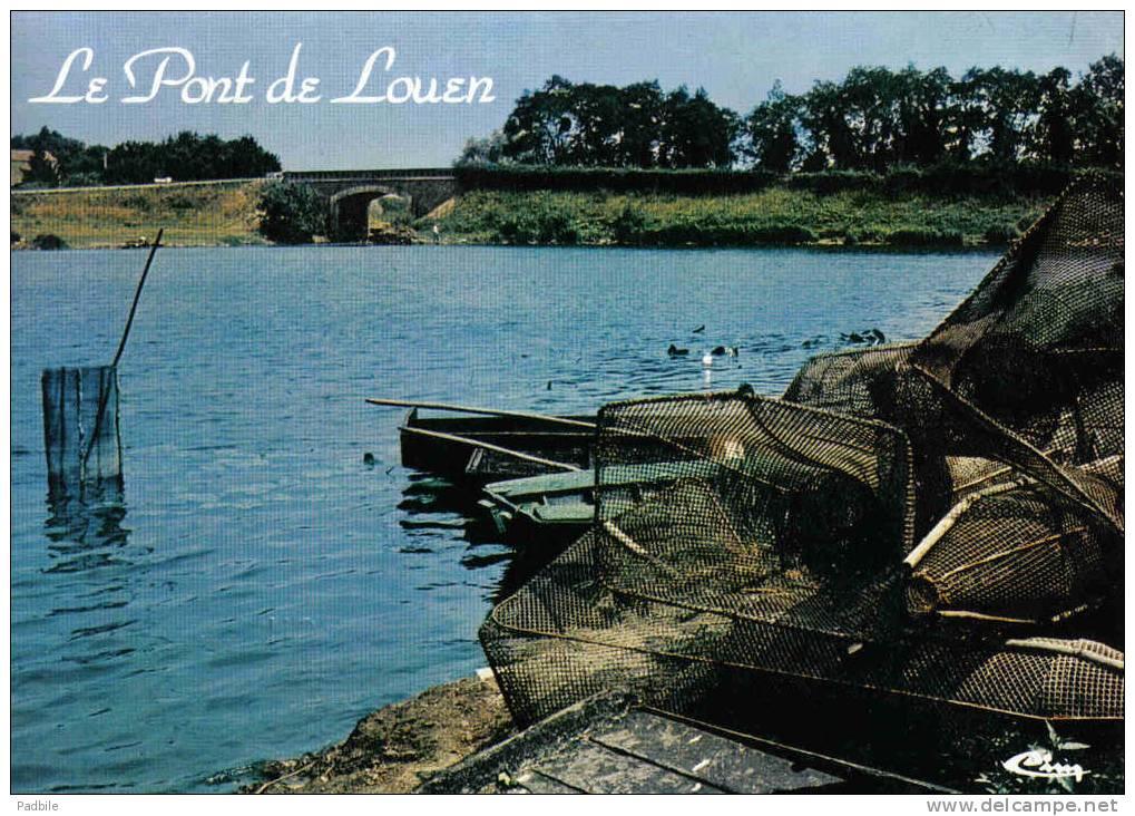 Carte Postale 44. Haute-Goulaine  Le Pont De Louen  Trés Beau Plan - Haute-Goulaine
