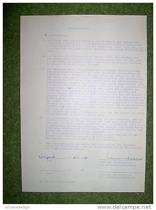 A413) NVA Der DDR - Armee, Sammlung Mit Formularen, Ausweisen, Dokumenten Usw. !! - Historische Dokumente
