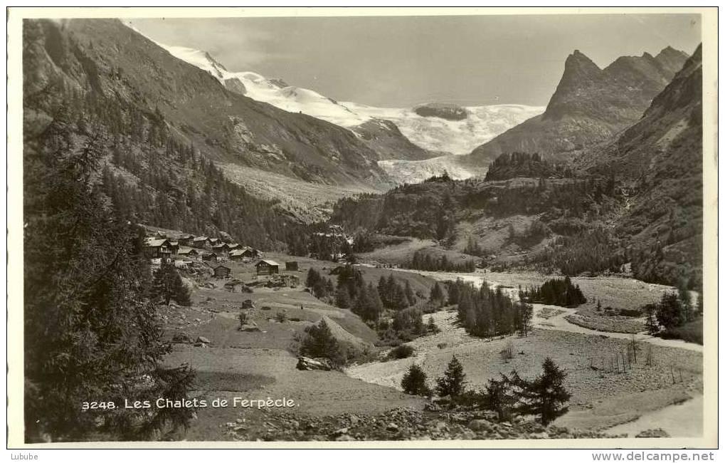 Les Chalets De Ferpècle        Ca. 1950 - VS Valais