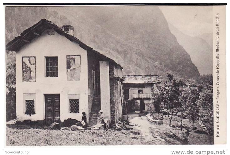 PIEMONTE - TORINO - Val Soana -Ronco Canavese - Borgata Convento - Sin Clasificación
