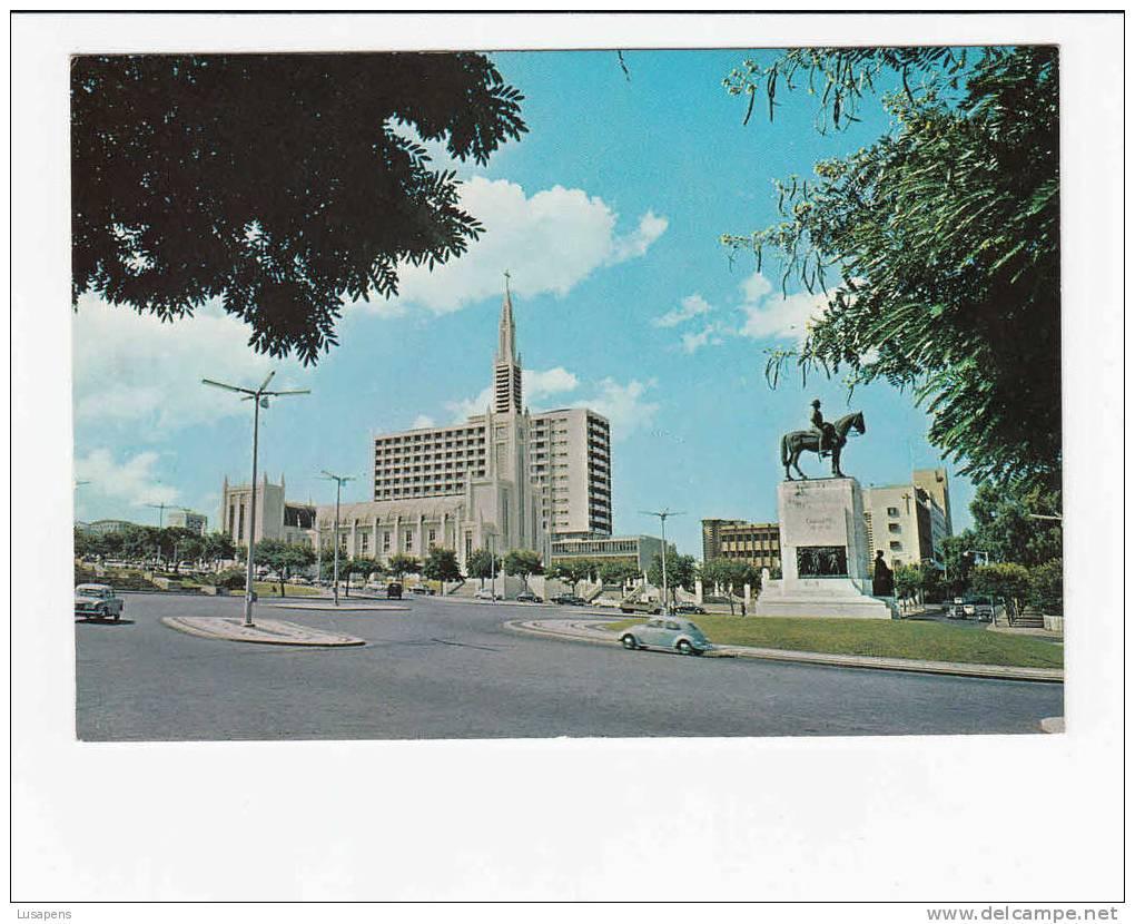 Portugal Cor 10667 – MOÇAMBIQUE MOZAMBIQUE - LOURENÇO MARQUES - PRAÇA MOUSINHO DE ALBUQUERQUE - Mozambique