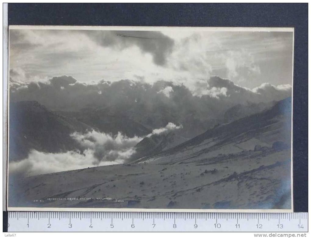 PIEMONTE  CUNEO   TRAMONTO INVERNALE NELL'ALTA VALLE TANARO  (RIFILATA)     N 4738 - Cuneo