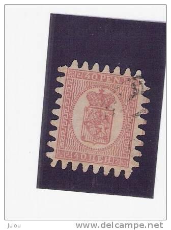 FINLANDE N° 9°    VOIR SCANNER - Used Stamps